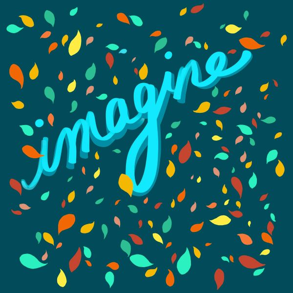 Imagine (leaves)