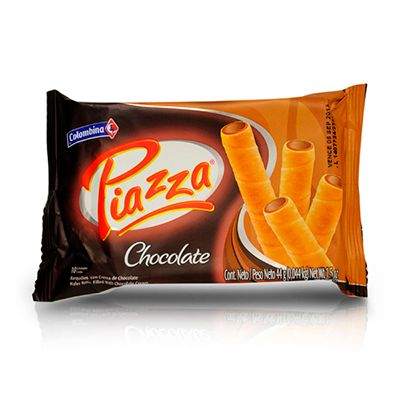 Barquillos Piazza Chocolate 45g