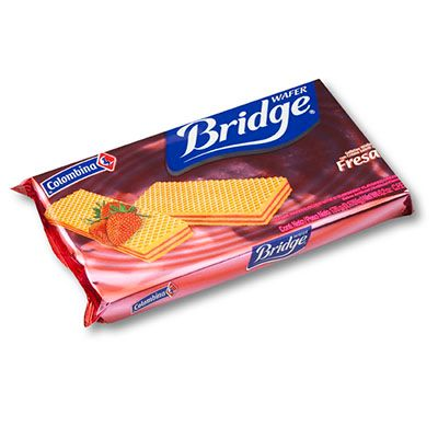 Galleta Wafer Bridge Fresa 151g