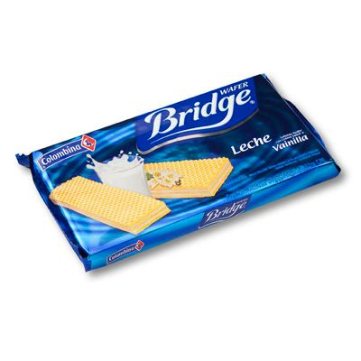 Galleta Wafer Bridge Vainilla 151g