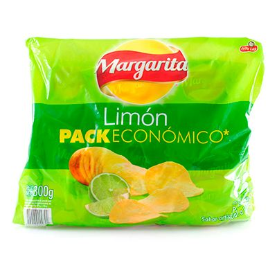 Papas Margarita Limón x 12 Unidades 300g