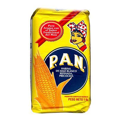 Harina PAN Blanco 1Kg