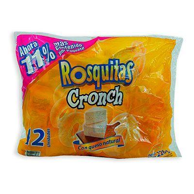 Rosquitas Croch x 12 Unidades 264g