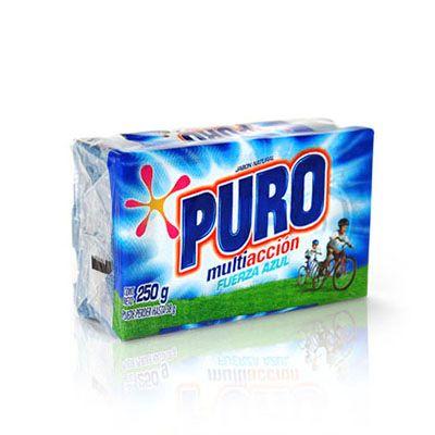Jabón Puro Fuerza Azul 250g