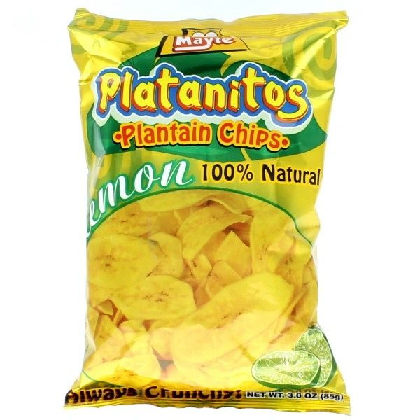 Platanitos Limon Mayte 85g