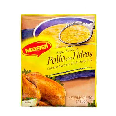 Sopa Pollo Con Fideos Maggi 60g
