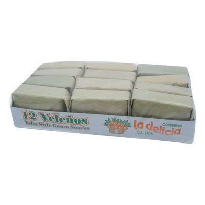 Bocadillos Veleños La Delicia x 12 Unidades 500g