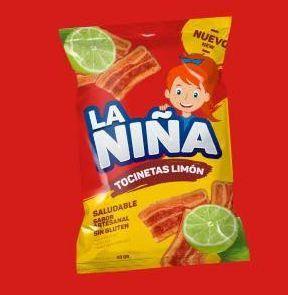 Tocinetas Limon La Niña x 6 Unidades