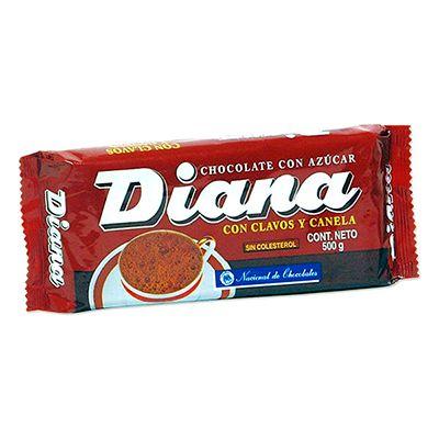 Chocolate Diana con Clavos y Canela 500g