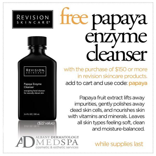 Revision Papaya Enzyme Cleanser 3.4 fl oz