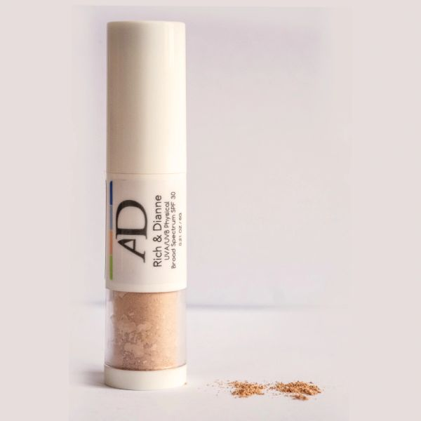 AD 100% Organic Mineral Foundation Rich & Dianne with SPF 30