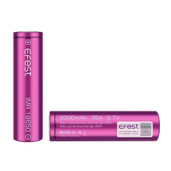 E Fest 18650 (2) Battery Pack