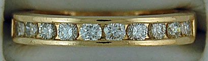 5/8ctw Diamond Band