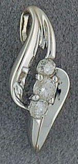 1/8ctw Diamond Pendant