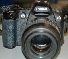 Canon EOS D60 DSLR Camera