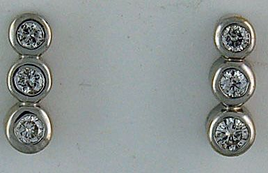 3/8ctw Diamond Earrings