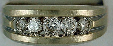Gentleman's 1ctw Diamond Band