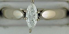 .40ct Marquise Diamond Solitaire Ring