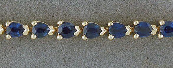 5ctgw Sapphire Bracelet
