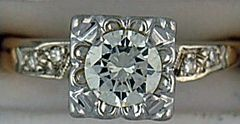 5/8ctw Diamond Engagement Ring