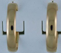 4.4mm Comfrt Fit Hoop Earrings