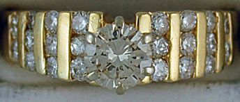 Ladies 1-1/4ctw Diamond Ring