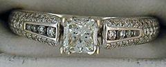 1ctw Diamond Engagement Ring