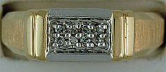 8 Diamond Gentleman's Ring