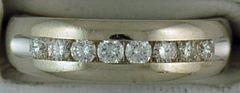 White Gold 3/8ctw Diamond Band