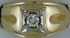 Gentlemans 1/3ct Diamond Ring