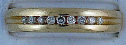 Gentleman's 1/5ctw Diamond Band