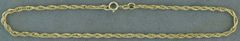 "8"" Diamond Cut Rope Bracelet"
