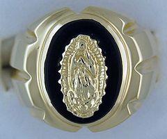 Gentleman's Onyx Ring