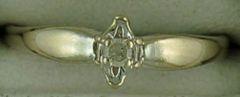 1/25ct Diamond Illusion Promise Ring