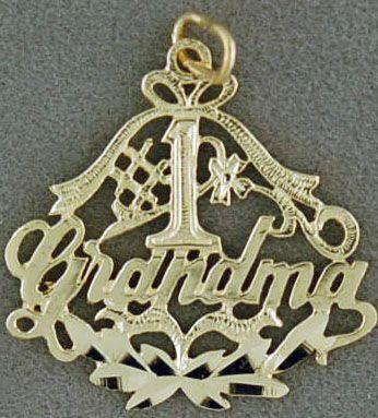 Ladies #1 Grandma Pendant