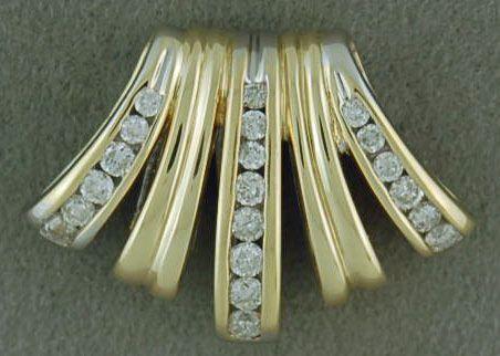 1/2ctw Diamond Slide Pendant