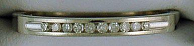 1/10ctw Diamond Band