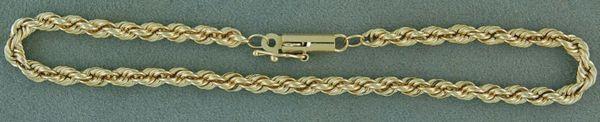"""7"""" Rope Link Bracelet"""