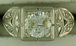 Ladies 1-3/8ctw Diamond Period Piece