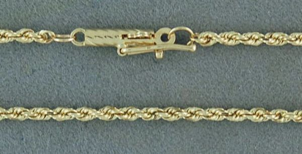 "24"" Thin Rope Link Chain"