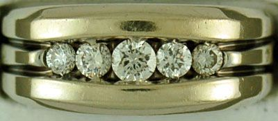Gentleman's 1/2ctw Diamond Ring