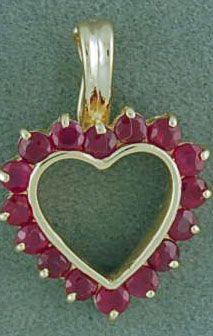 Ruby Heart Pearl Enhancer