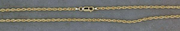"21"" Rope Chain"
