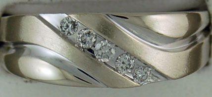 Gentleman's 1/3ctw Diamond Band