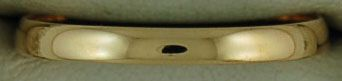 2.4mm Wide Plain Band