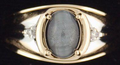Gentleman's Cat's Eye Ring