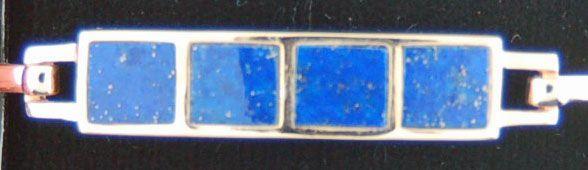 Blue Lapis Bangle
