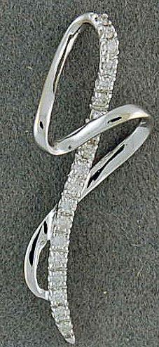 1/10ctw Diamond Pendant