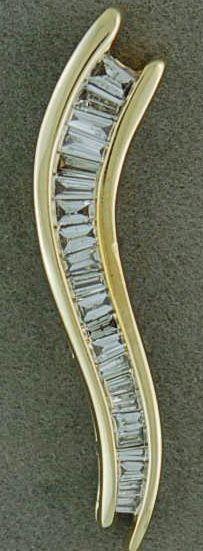 3/4ctw Diamond Journey Pendant