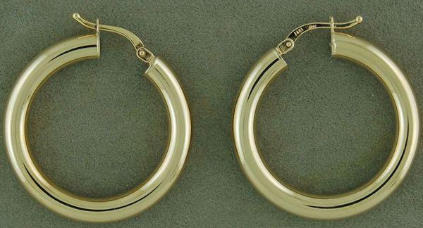 Hollow Hoop Earrings